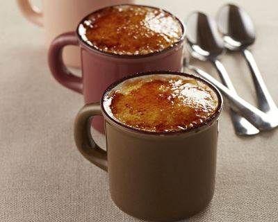 différentes recettes de mug desserts