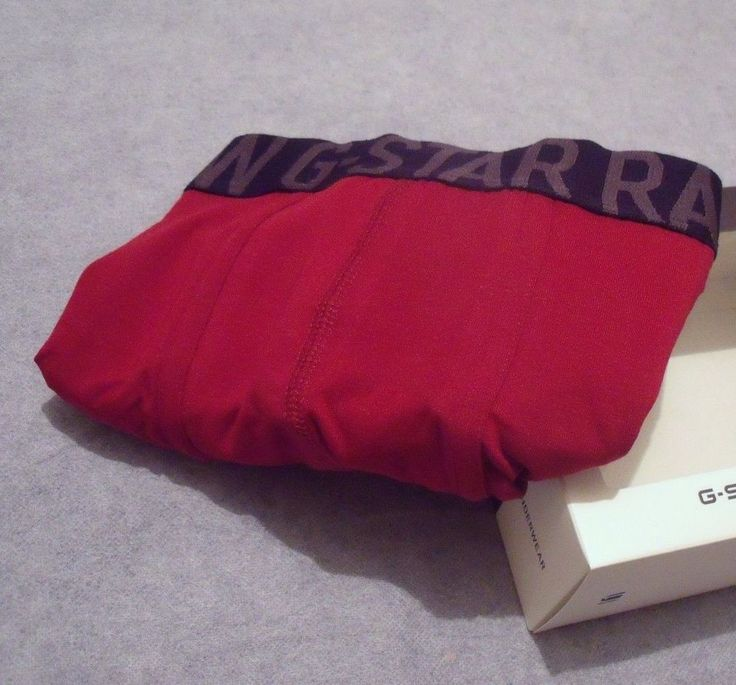 G-STAR RAW Mens Designer Red Boxer Trunks Underwear - Size Large /Gift for Him  | eBay