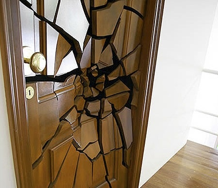 """""""Creative ideas of the door"""" -- Click through for some VERY unusual doors! NOTE: Links at the click-through may not be suitable for work or for children."""
