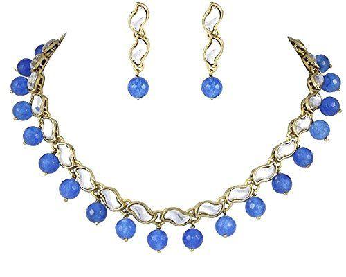 Elegant Indian Bollywood Gold Plated Blue Pearls Kundan N... https://www.amazon.com/dp/B01N4PAHTV/ref=cm_sw_r_pi_dp_x_UDYHybXNFHC7H