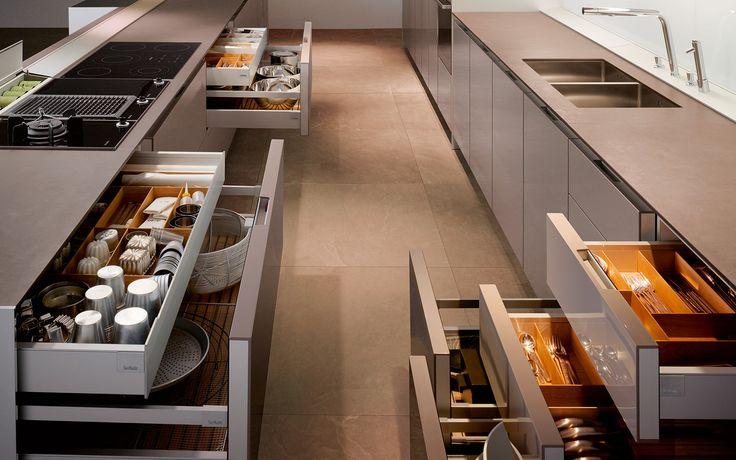 SieMatic S1 - Le design intelligent d'une cuisine pour tous les sens. www.siematic.be