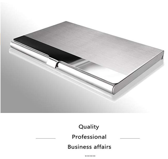 Professional Business Card Holder Business Card Case Stainless Steel Card Holder Fashion Stainless Steel Card Holder Business Card Holders Business Card Case