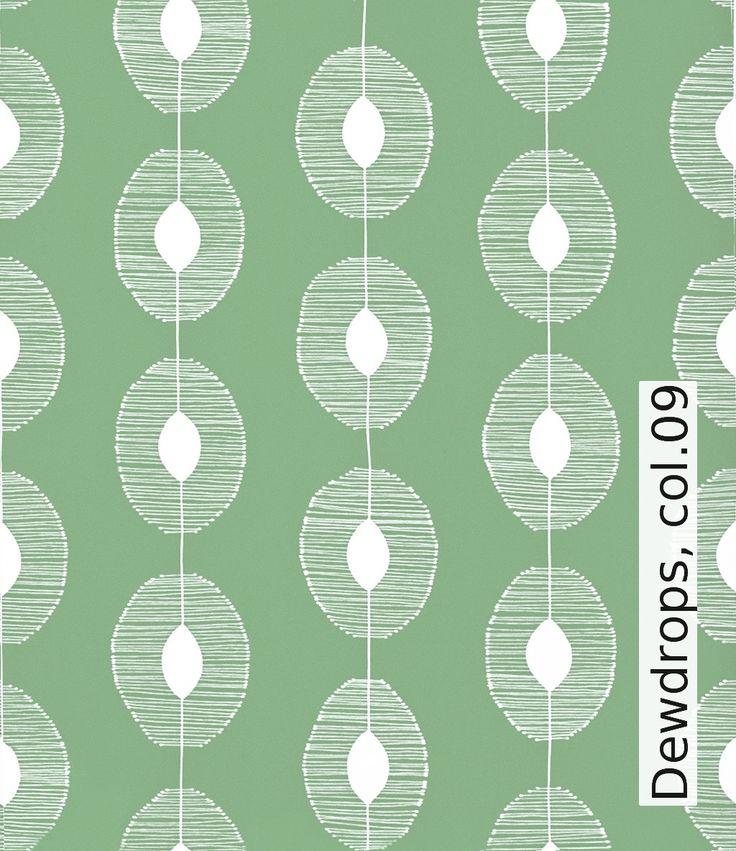 Tapete: Dewdrops, col.09 - TapetenAgentur