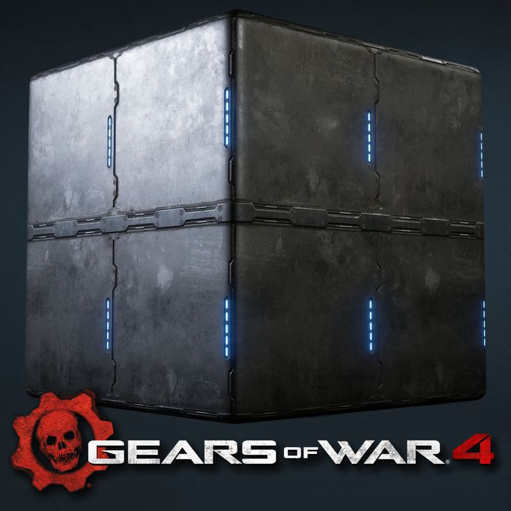 Here are some tiling textures that I created for Gears Of War 4.