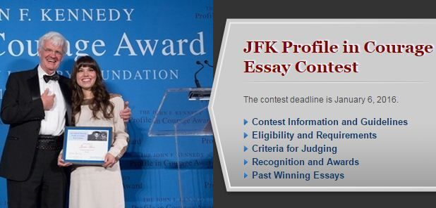 profiles in courage essay award winners