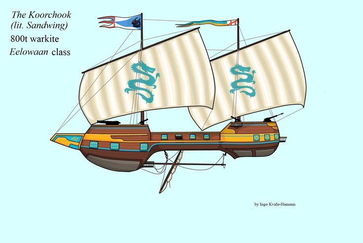 Space 1889 War Kite