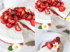 Amalie loves Denmark - Rezept für Dänemark-Torte mit Erdbeeren und Skyr