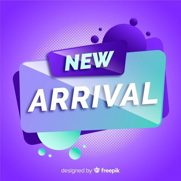 Download New Arrival Background In Modern Style For Free Banner Ads Design Social Media Design Inspiration Creative Poster Design
