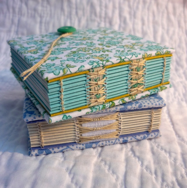 """Mini Floral"" Recycled hand bound notebooks - Folksy  Kate Bowles"