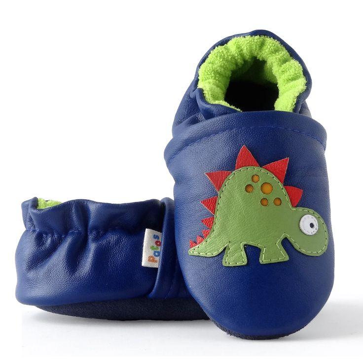 Calzado de bebe en cuero. Ergonómicos hechos en cuero natural, con suela blanda antideslizante. Adecuados para comenzar a caminar.