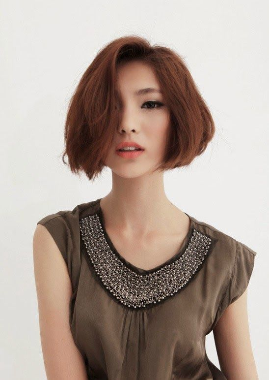 Asian Short Haircut #Bob #Short #Haircut #2015  http://modelrambuts.blogspot.com/2015/02/model-rambut-pendek-wanita-2015.html