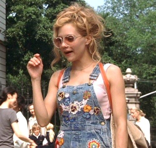 SO 90s! Denim dungarees are easy, fashionable and go with anything !