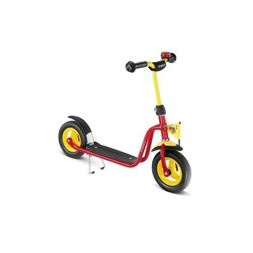 Puky Roller R03 red by Puky. $109.99. Scooter:Type: ScooterScooter Accessories:Number of Wheels / Castors Front: 1Number of Wheels / Castors Rear: 1with detachable stand: yesScooter Size:Recommended Body Size: 95 cmRecommended Age: 3 years