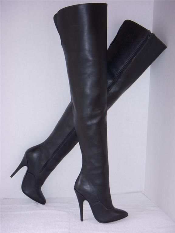eBay Leather: March 2009 - rare Rimba crotch-high boots