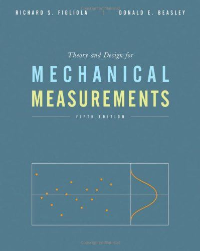 I'm selling Theory and Design for Mechanical Measurements, 5th Ed. by Richard S. Figliola and Donald E. Beasley - $35.00 #onselz