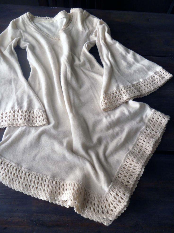 omⒶ KOPPA: virkatut REUNAT - white dress edging