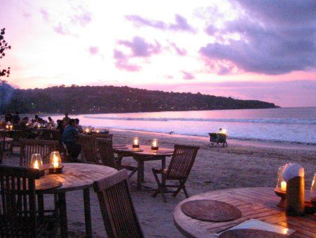 Visit the Jimbaran beach, indulge in water sports followed by a quiet seaside dinner