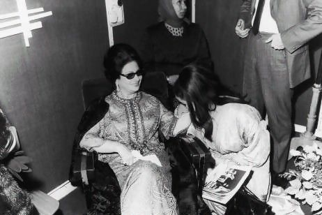 Getting inside a national icon: Umm Kulthum's biopic [The Singer Umm Kulthum in Paris, 1967]