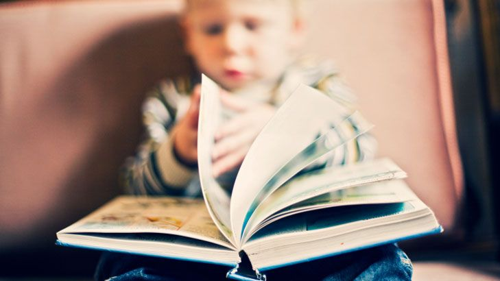 How to keep your son reading, even after primary school. Rule 1: model it!