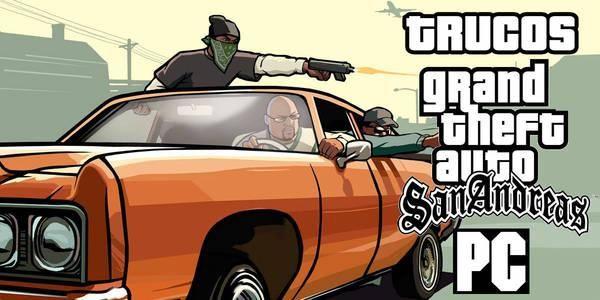 Trucos Y Claves Para Gta San Andreasaquí Encontrarás Todos Los Trucos Que Existen Para Gta San Andreas Introduce Cualquiera D San Andreas Gta Grand Theft Auto