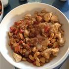 Cashew & water chestnut chicken stir fry