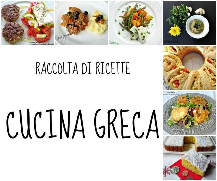 grecia RACCOLTA RICETTE BLOG LA CUCINA DI ASI