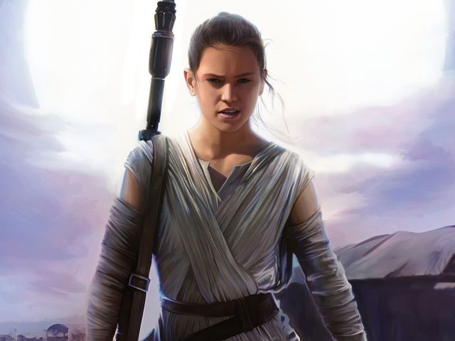 I got: Rey! What Star Wars:The Force Awakens Character Are You?