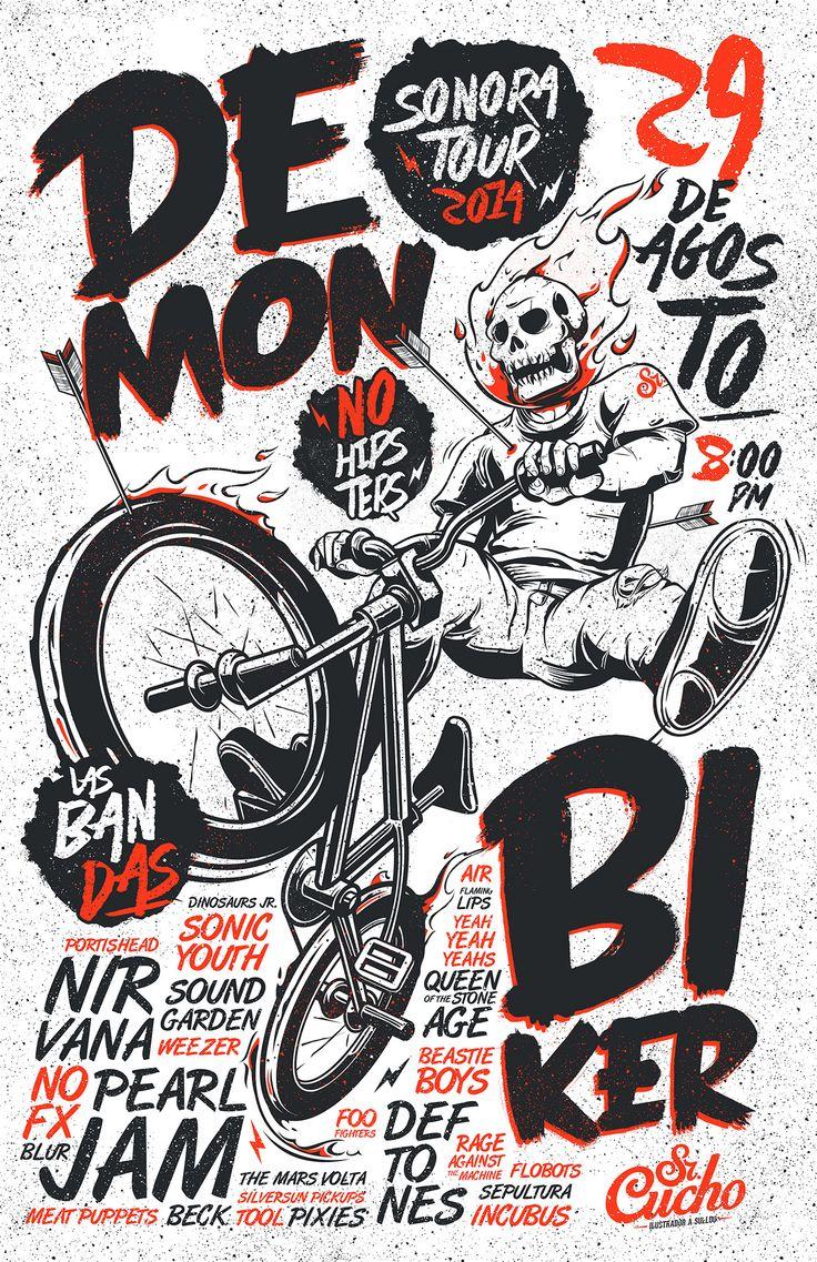 Demon Biker on Behance