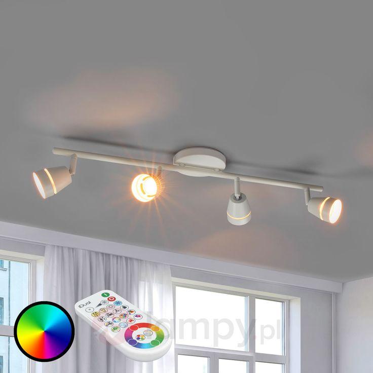 Ivory - sterowany spot sufitowy LED 4-punktowy 9038012