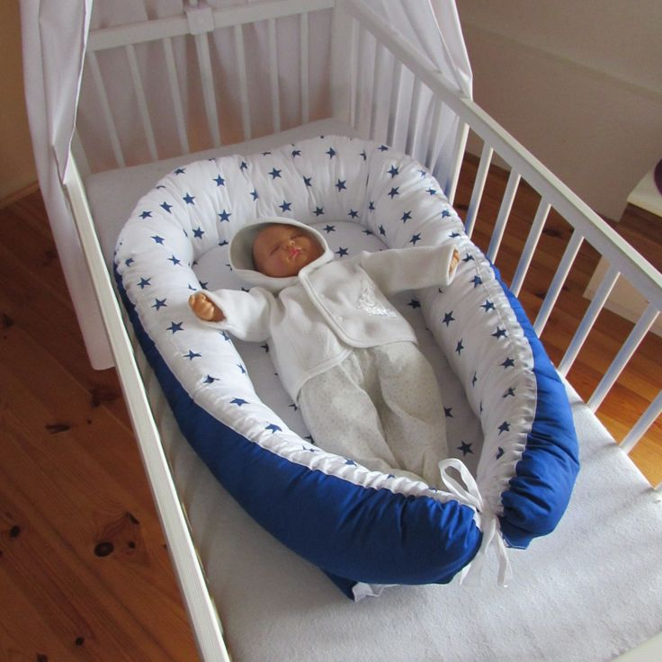 Hnízdečko pro miminko HVĚZDIČKY
