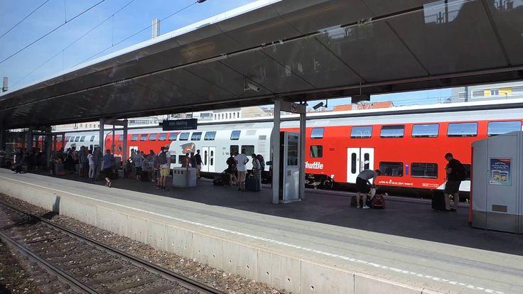 Австрия  От Hauptbahnhof Wien до Wien Meidling Bahnhof на электричке