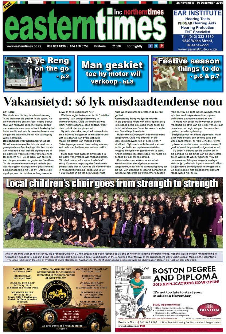Front page 26 Nov - 10 Dec