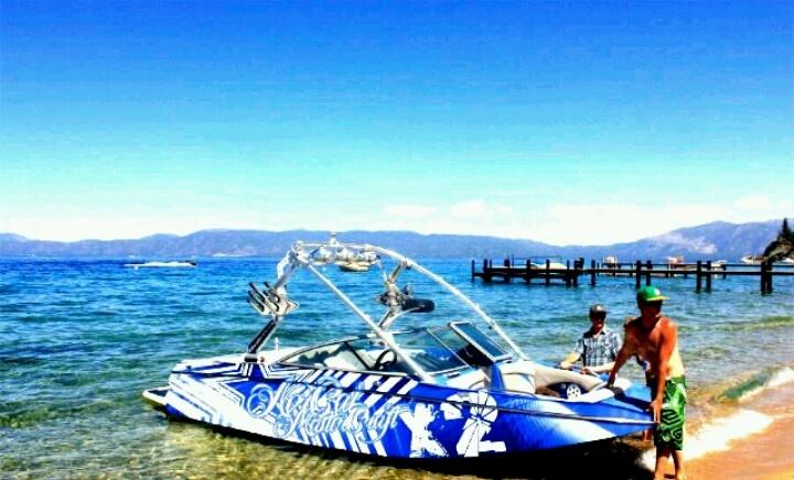 #LakeTahoe #MasterCraft #Boats ALL DAY