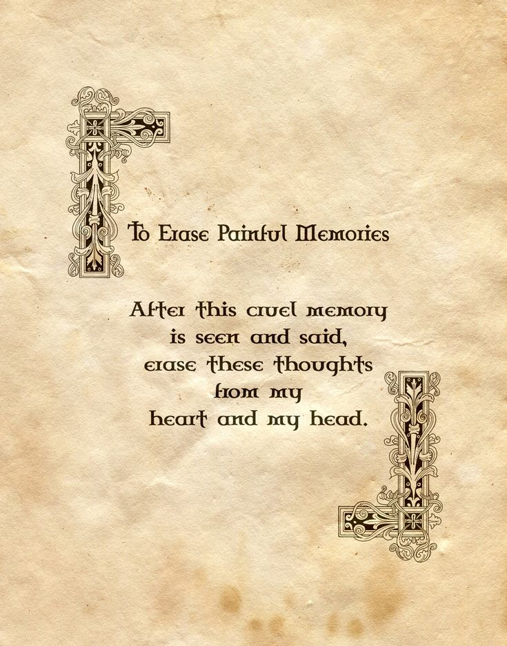 """To Erase Painful Memories"" - Charmed - Book of Shadows"