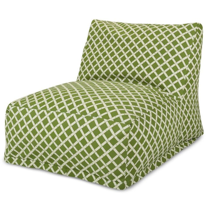 Sage Bamboo Bean Bag Chair Lounger