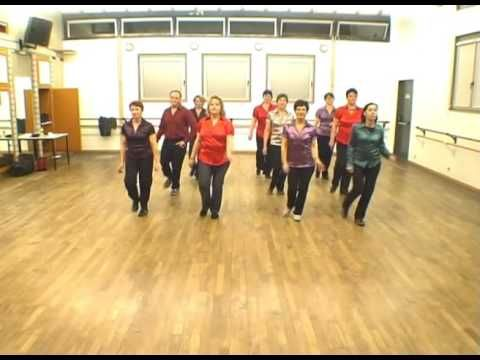 Rock around the clock - country line dance