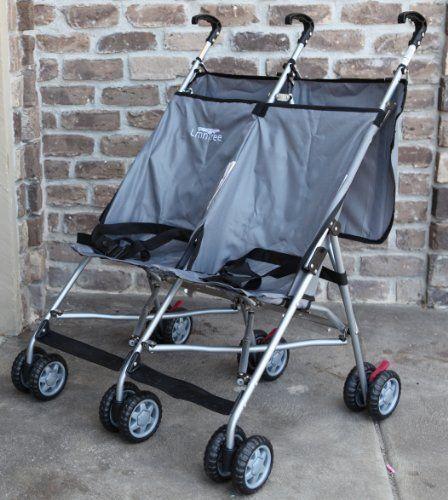 Lightweight Double Umbrella Stroller By Lmntree