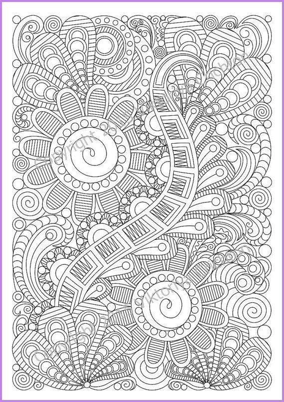 Zen Coloring Pages Pdf : Best zen zanity zentangle images on pinterest art