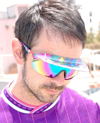 Sweet sunglasses with built in visor