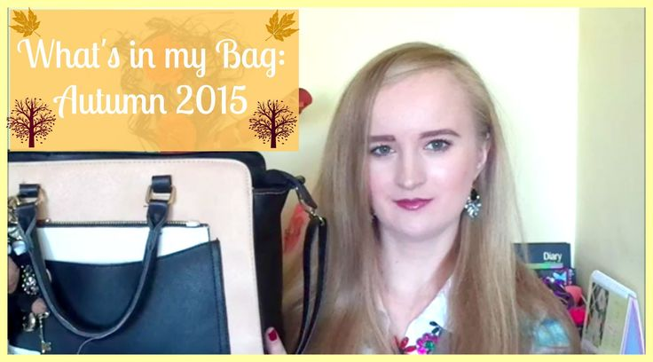 What's in my Bag: Autumn 2015 | Retro Bombshell TV