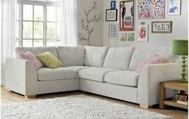 Blanche Right Hand Facing Deluxe Corner Sofa Bed Sherbet