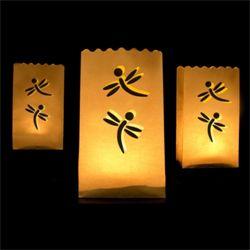 Billige lysposer til udedekoration - flotte papirsposer til fyrfadslys