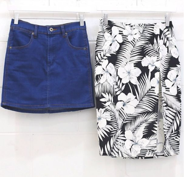 Love these 2 skirts for both a casual day or a special evening out