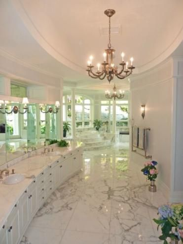 Most Expensive Bathroom | Marble Bathroom: Most Expensive Home in Stowe