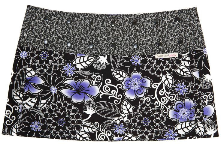 Zen Hip Hap Purple Athletic Skirt