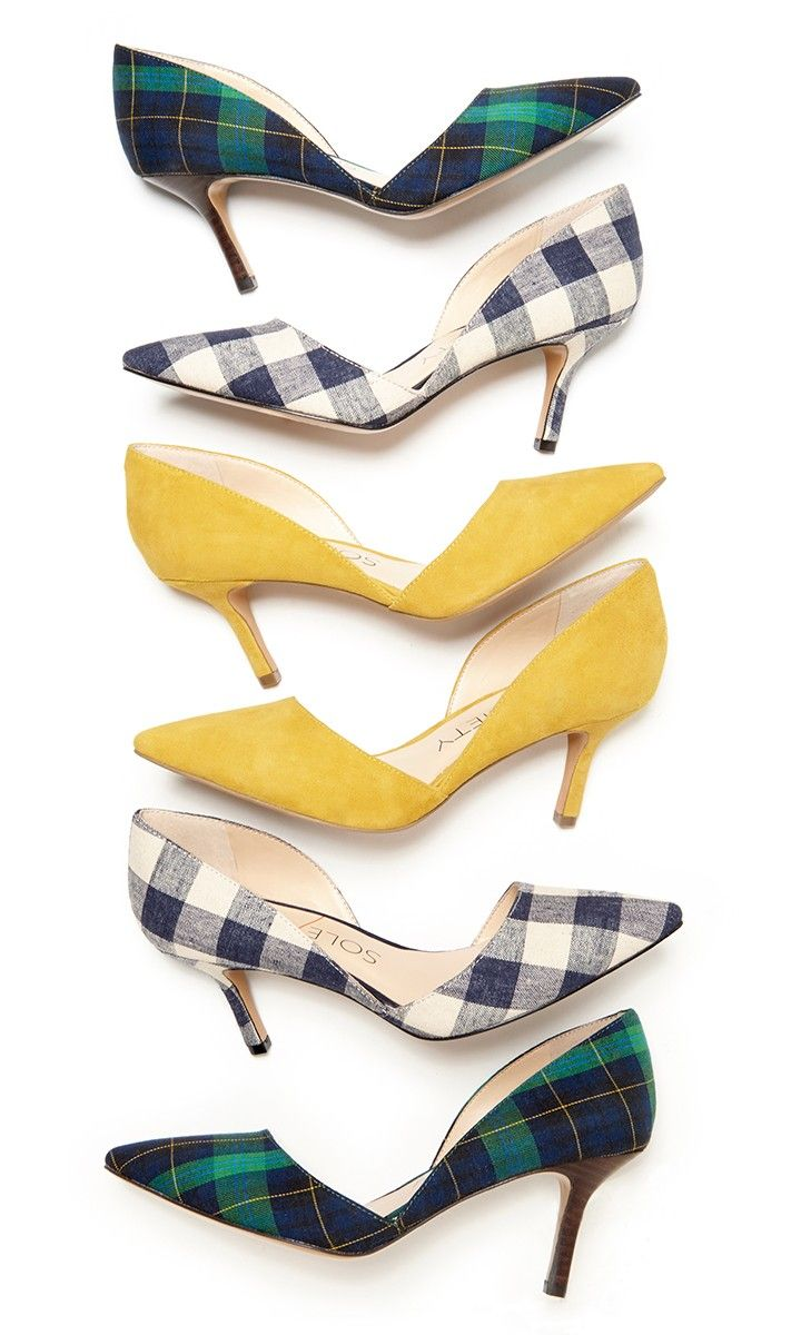 Bestselling d'Orsay mid heels with pointed toes. The epitome of office-to-out style.