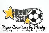 Soccer Star SVG Title