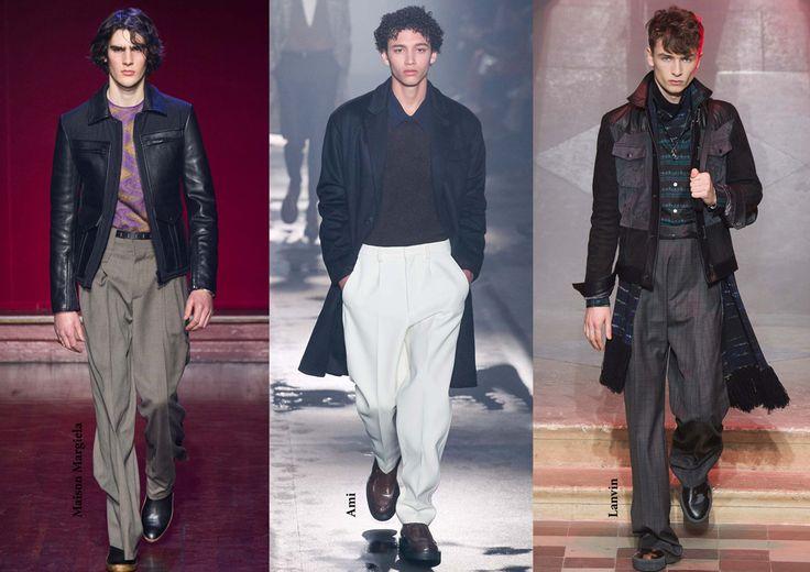 FW15 menswear trends / Baggy trousers / Férfi divat 2015 ősz tél / Buggyos nadrág