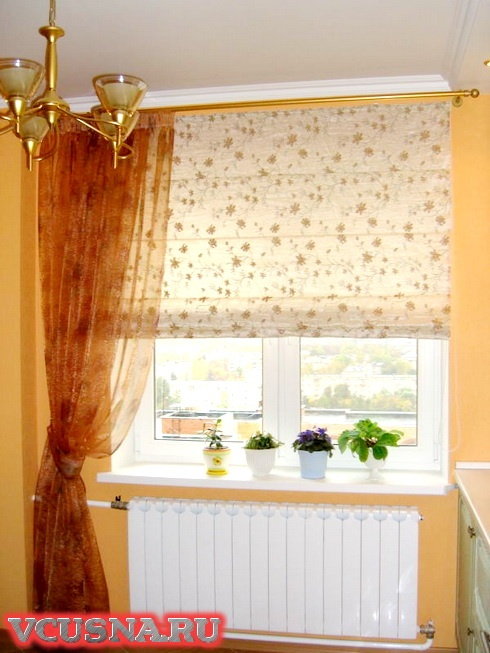 Занавески на кухню фото VCUSNA.RU