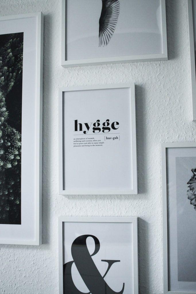 Ein Blick Ins Wohnzimmer Meine Bilderwand Mit Desenio